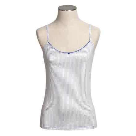 Calida Yuma Camisole - Spaghetti Straps, Single-Jersey Cotton (For Women) in White - Closeouts