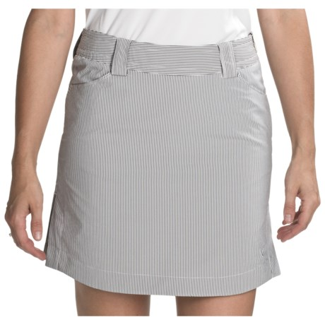 Callaway Azaela Striped Skort (For Women) in Cavir