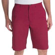 Callaway Chev Shorts (For Men) in Beet Red - Closeouts