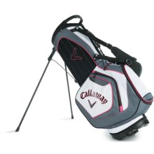 Callaway Chev Stand Golf Bag in White/Charcoal/Pink - Closeouts