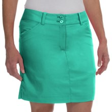 Callaway Chevron Skort - UPF 50+ (For Women) in Atlantis - Closeouts