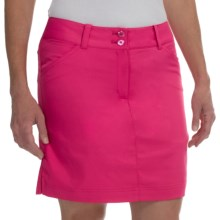 Callaway Chevron Skort - UPF 50+ (For Women) in Fuchsia Purple - Closeouts