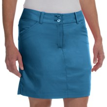 Callaway Chevron Skort - UPF 50+ (For Women) in Mykonos Blue - Closeouts