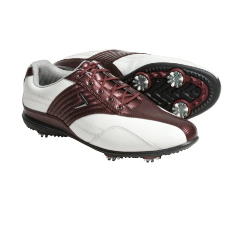 Callaway Corina Golf Shoes - Waterproof (For Women) in Black/Black