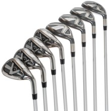 Callaway Edge Hybrid-Iron Graphite Shaft Combo Set - 8-Piece, 4H-7H, 8-9, PW, SW (For Women) in See Photo - Closeouts