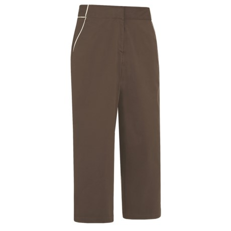 Callaway Elements Piped Capri Pants (For Women) in Bracken