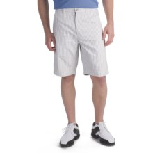 Callaway Mini Check Shorts  (For Men) in Bright White/Anthracite - Closeouts