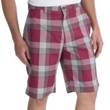 Callaway Modern Plaid Shorts (For Men)