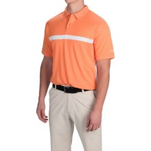 Callaway Opti-Dri Color-Block Polo Shirt - Short Sleeve (For Men and Big Men) in Bird Of Paradise - Closeouts