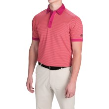 Callaway Opti-Vent Polo Shirt - Short Sleeve (For Men and Big Men) in Granita - Closeouts
