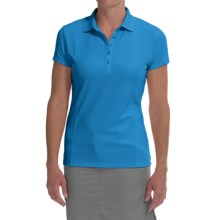 Callaway Outlast Polo Shirt - UPF 15, Short Sleeve (For Women) in Hawaiian Ocean - Closeouts