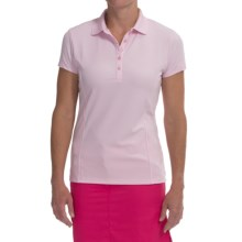 Callaway Outlast Polo Shirt - UPF 15, Short Sleeve (For Women) in Pink Lady - Closeouts