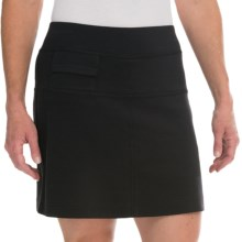 Callaway Tag Knit Skort - UPF 50 (For Women) in Caviar - Closeouts