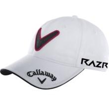 Callaway Tour Chev Cap (For Men) in White - Closeouts