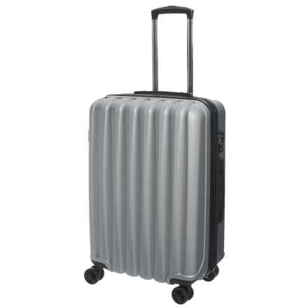 """CalPak 20"""" Verdugo Hardside Expandable Spinner Carry-On Suitcase in Stone - Closeouts"""