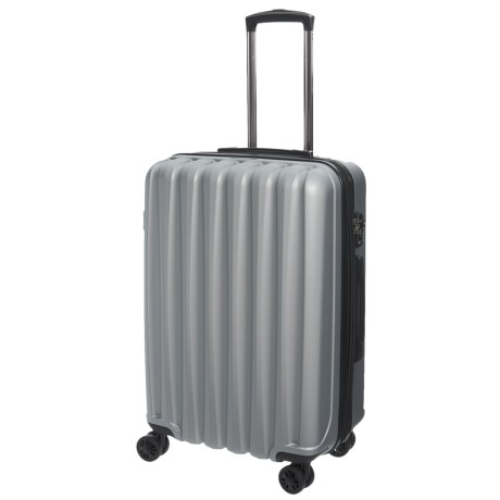 "CalPak 20"" Verdugo Hardside Expandable Spinner Carry-On Suitcase in Stone"