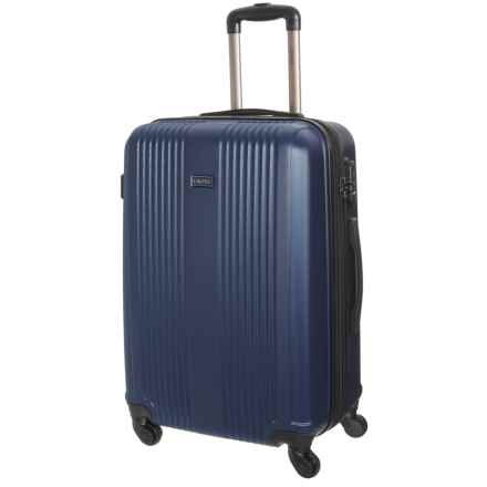 """CalPak 24"""" Torrino II Expandable Spinner Suitcase - Hardside in Navy Blue - Closeouts"""