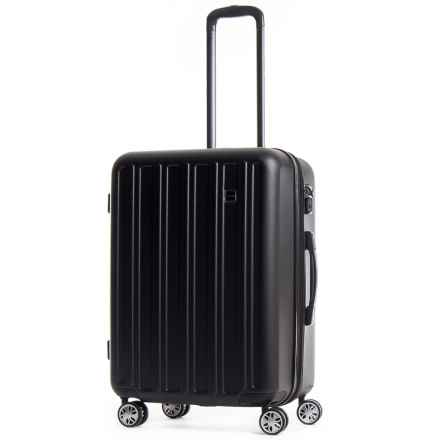 "CalPak 24"" Wandr Collection Hardside Expandable Spinner Suitcase in Black - Overstock"