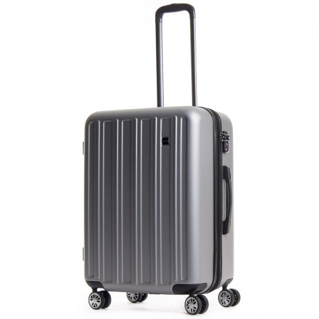 "CalPak 28"" Wandr Collection Hardside Spinner Suitcase in Silver"