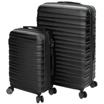 Calpak Anza II Expandable Carry-On and Spinner Suitcase Set - 2-Piece in Black - Closeouts