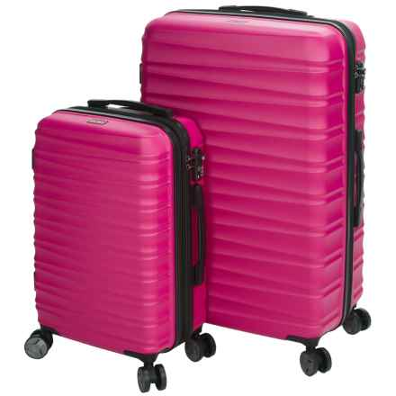 Calpak Anza II Expandable Carry-On and Spinner Suitcase Set - 2-Piece in Fuchsia - Closeouts
