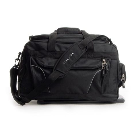 """CalPak Calpak Champ Rolling Duffel Bag - 21"""" in Black"""