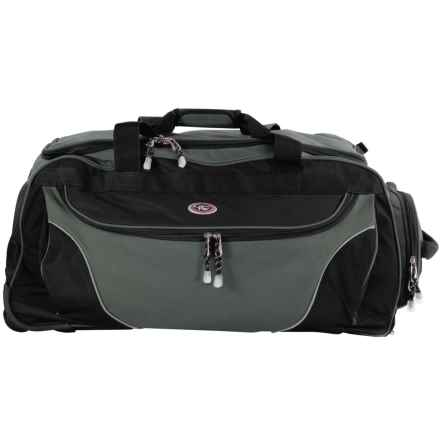 "Calpak Cargo Rolling Duffel Bag - 29"" in Charcoal - Closeouts"