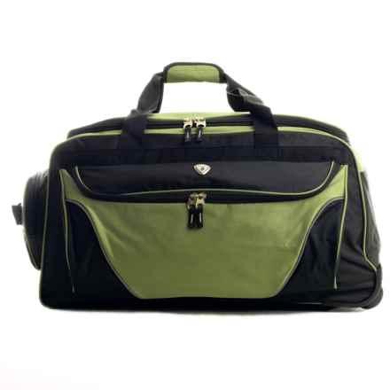 "Calpak Cargo Rolling Duffel Bag - 29"" in Olive - Closeouts"