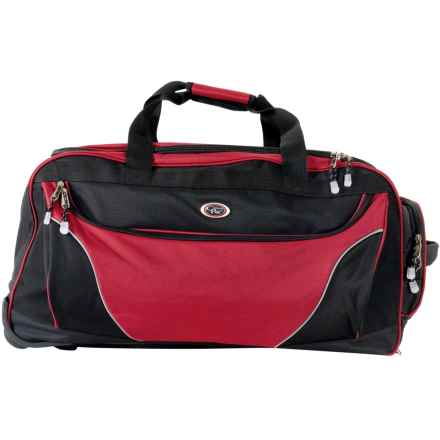 "Calpak Cargo Rolling Duffel Bag - 29"" in Red - Closeouts"