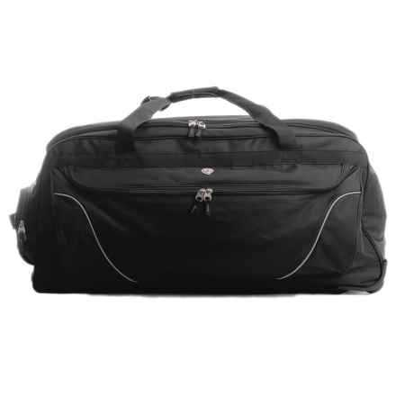 "Calpak Cargo XL Rolling Duffel Bag - 36"" in Black - Closeouts"