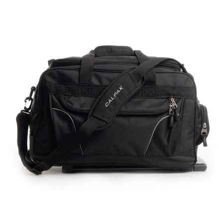 "Calpak Champ Rolling Duffel Bag - 21"" in Black - Closeouts"