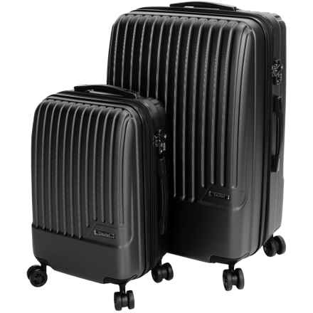 Calpak Davis Expandable Carry-On and Spinner Suitcase Set - 2-Piece in Black - Closeouts