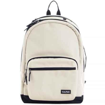 Calpak Glenroe Backpack in Ivory - Closeouts