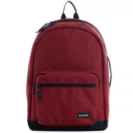 Calpak Glenroe Backpack in Red - Closeouts