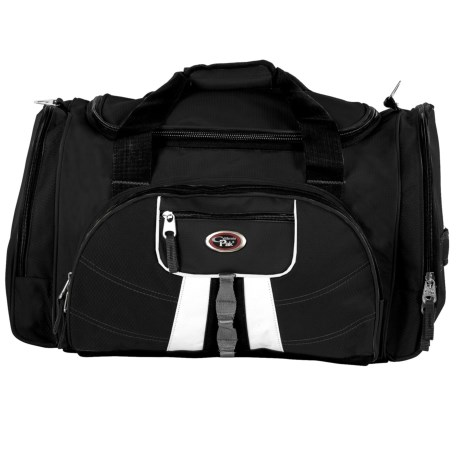 "CalPak Hollywood Multi-Pocket 22"" Duffel Bag in Black"