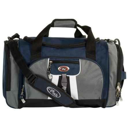 "Calpak Hollywood Multi-Pocket Duffel Bag - 22"" in Navy Blue - Closeouts"