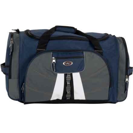 "Calpak Hollywood Multi-Pocket Duffel Bag - 27"" in Navy Blue - Closeouts"