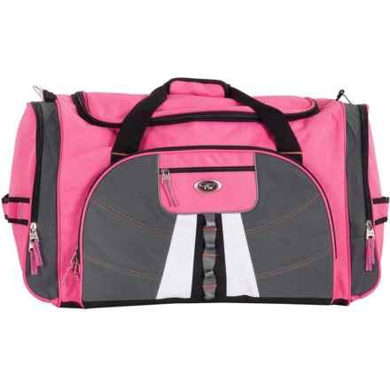"""Calpak Hollywood Multi-Pocket Duffel Bag - 27"""" in Pink - Closeouts"""