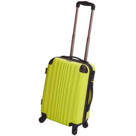 """Calpak Lukas II Expandable Spinner Carry-On Suitcase - 20"""" in Yellow - Closeouts"""