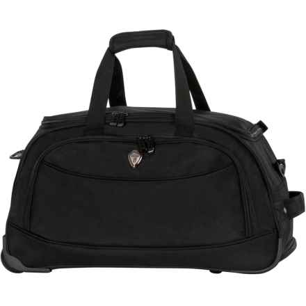 "Calpak Plato Rolling Duffel Bag- 21"" in Black - Closeouts"