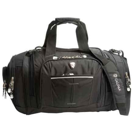 """Calpak Silver Lake Multi-Pocket Duffel Bag- 22"""" in Black - Closeouts"""