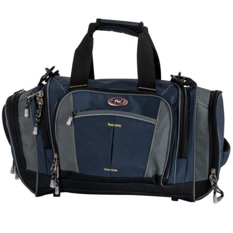 "CalPak Silver Lake Multi-Pocket Duffel Bag- 22"" in Navy Blue"