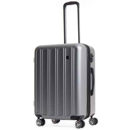 """CalPak Wandr Collection Hardside Spinner Suitcase - 28"""" in Silver - Overstock"""