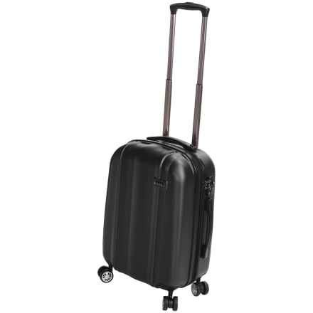 "Calpak Winton Expandable Spinner Carry-On Suitcase - 20"" in Black - Closeouts"