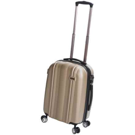 "Calpak Winton Expandable Spinner Carry-On Suitcase - 20"" in Champagne - Closeouts"