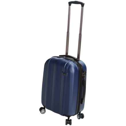 """Calpak Winton Expandable Spinner Carry-On Suitcase - 20"""" in Navy - Closeouts"""