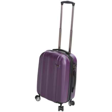"Calpak Winton Expandable Spinner Carry-On Suitcase - 20"" in Purple - Closeouts"