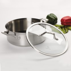 Calphalon Accucore 5 Qt. Dutch Oven with Lid in See Photo