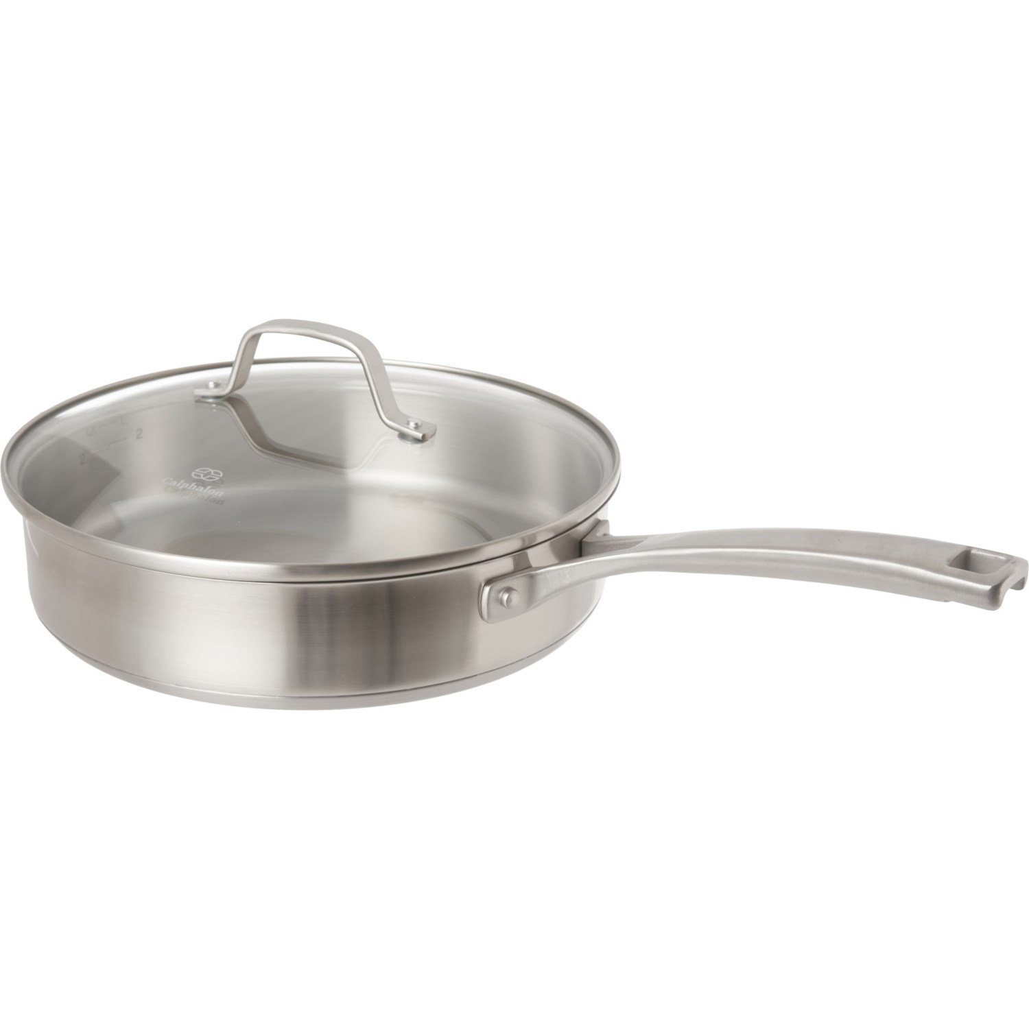 Stupendous Calphalon Classic Stainless Steel Saucepan With Lid 3 Qt Home Remodeling Inspirations Genioncuboardxyz