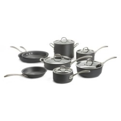 Calphalon Commercial Hard-Anodized Cookware Set - 13-Piece in See Photo